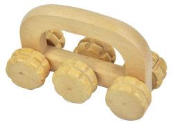أداة يدويّة 4 يلفّ خشبيّة عجلات جسر تدليك [مسّجر] أداة يدويّة 6 يلفّ خشبيّة عجلات جسر تدليك [مسّجر]