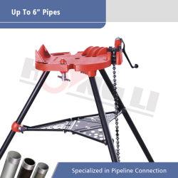 1/8polegada para tubo de 6 polegada de bancada para venda tipo Cadeia Tri-Stand Ridgid morsa (H401)