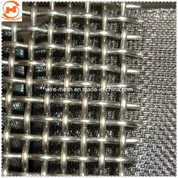 Roestvrij staal/gegalvaniseerd gekrimpt filterdraadgaas voor de mijnindustrie