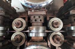 Nova Técnica Tube-Weld Chapeamento Desenho seco fiável Arame de aço revestido de cobre