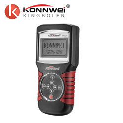 وصول جديد Konnwei Kw820 أداة قارئ الرمز لماسح تشخيص السيارات/محرك السيارة kW 820 مع لغات متعددة