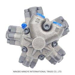 Motore idraulico alle componenti del frantoio del cono