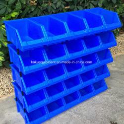 Apilable de almacén Contenedor de almacenamiento de piezas pequeñas de plástico