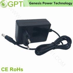 18W 18V 1A commutation CCTV AC DC Adaptateur d'alimentation, fiche de chargeur de voyage Mur d'alimentation adaptateur de puissance par LED