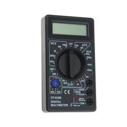Dt830b는 저가 소형 측정 AC 직류 전압 LCD 소형 디지털 멀티미터 전압계 검사자를 도매한다