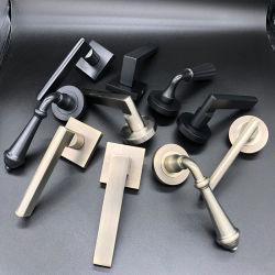 O mobiliário Janela Porta Fechaduras diversos materiais de bronze em aço inoxidável, o alumínio de liga de zinco Hardware puxador de porta
