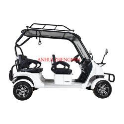 CER anerkannte grüne Energie Mini4 Seater vier Rad-Golf-Auto 60V2500W