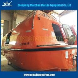 Beiliegendes FRP Material-Rettungsboot Solas-total