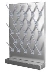 Simple face en acier inoxydable Peg Board (JH-PB001)