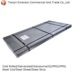 ورق مطلي بالألومنيوم Zn-Al-Mg مع طلاء 275g من الزنك مغلف بالفولاذ الملف/الورقة/المصنع/القطاع