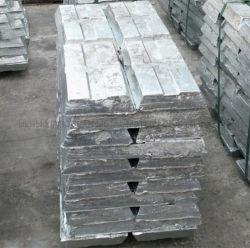 Lingots d'aluminium 99,5 99,9 % lingot en alliage de zinc aluminium lingot lingot de magnésium avec des ventes directes en usine