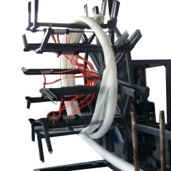 De grand diamètre du tuyau de l'eau en carton ondulé simple paroi de la machine de l'extrudeuse