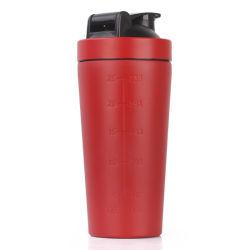 أفضل سعر قابل لإعادة الاستخدام من الفولاذ المقاوم للصدأ الرياضة زجاجة مياه شاكر 500 مل شعار مخصص سعة 750 مل تبلغ 17 أونصة سائلة