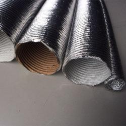 Tubo flexível ou tubo de ar quente para a tampa dianteira do motor do permutador de calor
