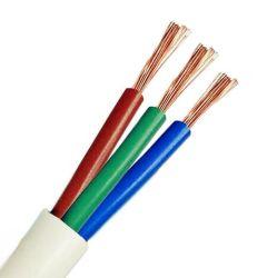 300/500V 450/750V simple/conducteur en cuivre multibrins isolés en PVC le fil électrique