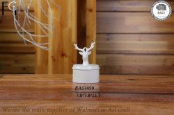 Weihnachtsgeschenk-keramischer Porzellan-Ren-Schmucksache-Kasten