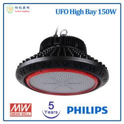 Lampada da retrofit industriale 100W 150W 200W con Certificazione CE RoHS, lampada UFO LED High Bay Light