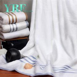 Hôtel cinq étoiles fournisseur 100% coton White Hotel face à la main Serviette de bain