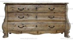 Fach-Brust des antike nordische klassische Möbel-dunkle natürliche aufbereitete Tannen-Holz-drei