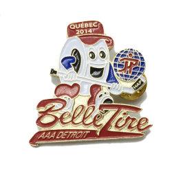 Distintivo promozionale di Pin del risvolto di sport della medaglia del metallo del regalo (140)