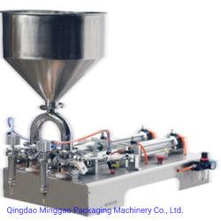 Le piston de l'électricité Pasty automatique Machine de remplissage de liquide avec double tête