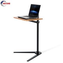 منقول ألومنيوم 7-20 بوصة إرتفاع قابل للتعديل جانب سرير [لبدسك] أريكة مكتب لأنّ قرص حاسوب مفكّرة [تا تبل] الحاسوب المحمول أرضيّة حامل قفص