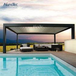 Hot Vente Pergola motorisé piscine Gazebo de stores pare-soleil
