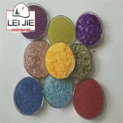 El polvo de mica Multicolor cosméticos para el maquillaje, Eyeshadow, esmalte de uñas
