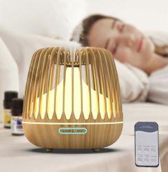 Grãos de madeira Birdcage Óleo Essencial ultra-sons do difusor de aroma de Aromaterapia