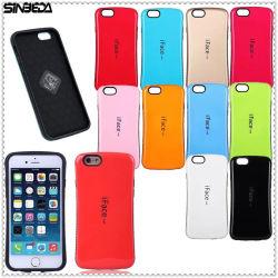 Het Geval van de Rugdekking van de Wandelgalerij PC+TPU van Iface van Sinbeda voor Geval 4/5 van de iPhone5c Telefoon