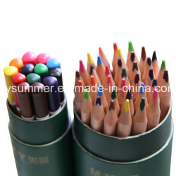 La naturaleza lápices de color madera con baño final