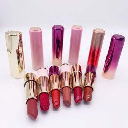 化粧品の構成の工場OEMのプライベートラベルのカスタム方法カラーチャーミングなきらめきの口紅