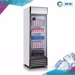 Singolo dispositivo di raffreddamento di vetro dritto della bevanda del portello