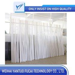 Role enrolado32mm*35mm*2000mm de material composto Pole Position do tubo de fibra de vidro/plástico reforçado com fibra de vidro/Tubo para Aplicação