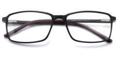 Venta caliente estilo de los hombres de acetato de inyección de Marcos óptica Marco gafas