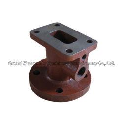 Cinzento fundido personalizada&ferro dúctil da válvula da tubulação de água/óleo as conexões do pipeline de peças