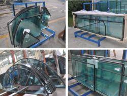 Высокий уровень безопасности Закаленное слоистое двойные стекла на стекле