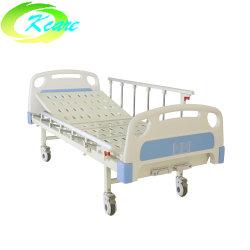 Marco de la cama ajustable ABS Double-Crank médica Manual de cama de hospital