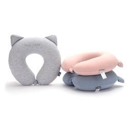 A nova Bonitinha Cat Ear letra U travesseiro