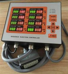 Hot runner tijdcontroller injectie-matrij-regelnaald Goede prijzen voor de 8-punts hydraulische klep van de Delayer van de matrijscontroller