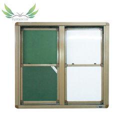 Lavagna bianca per classi con tavola verde scorrevole per la scuola in vendita a caldo