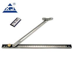 Seguridad de alta calidad Casement Ventana de UPVC Hung Top #304 Acero Inoxidable bisagra límite de 2 bar