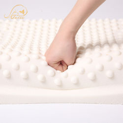 중국 컨투어 마사지 라텍스 베개로 홈 가구를 위한 공장 / 침구 세트