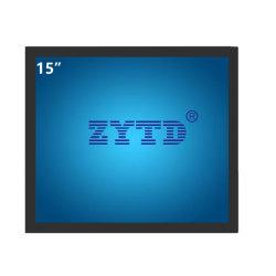 """15 """" schroffer industrieller Pcap Screen-Computer-Monitor für Kleinlösung mit breitem Betrachtungs-Winkel"""