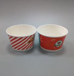 Одноразовые продовольственной продукции бумаги емкость мороженое