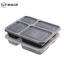 De PP PS Embalagem de plástico PET Caixa de contentores de produtos hortícolas Frutas e transparente na caixa de refeição embalada Takeaway caixas de fast food