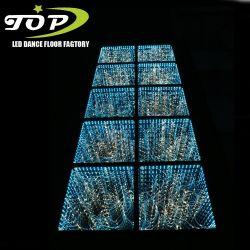 3D portátil transparente iluminado por las estrellas de Baile panel LED