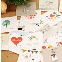 도매 공장 저가 미니 인사 카드 인쇄 서비스