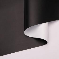 5m de ancho White-Black película para la pantalla de proyección pantalla proyector eléctrico