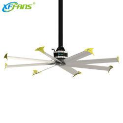 영구 자석 Frameless 모터를 가진 공중과 상업적인 사이트를 위한 천장 선풍기 산업 환기 Hvls 큰 팬
